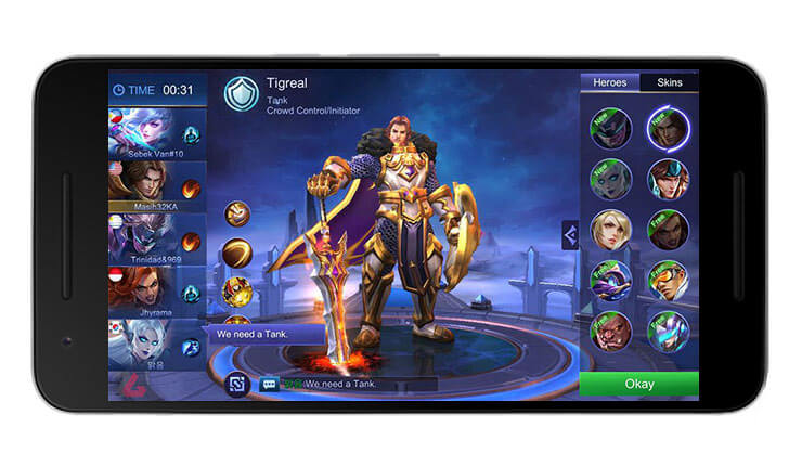 بازی Mobile Legends