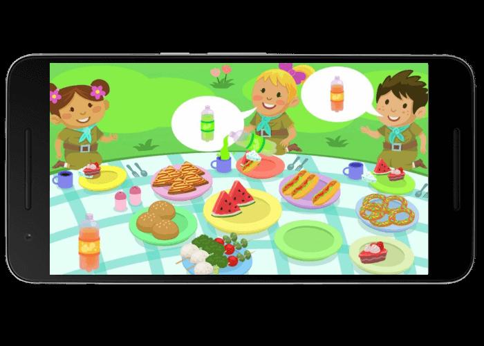 تصویر 2 از بازی فسقلی ها در اردو