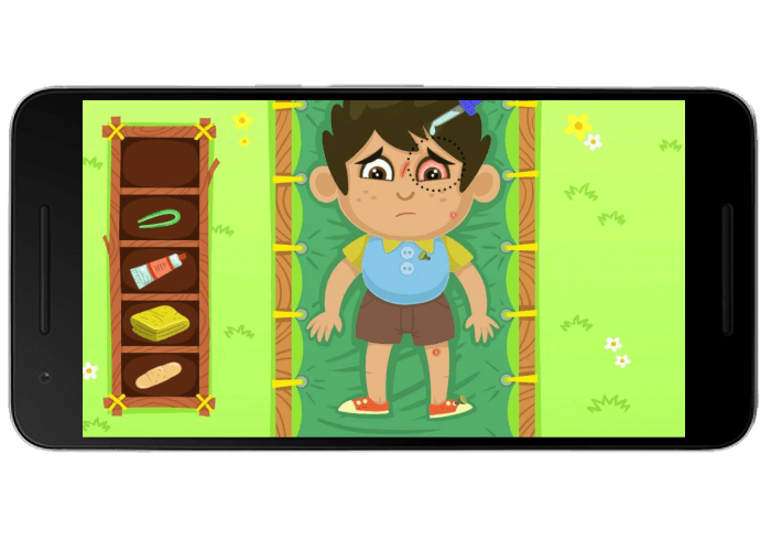 تصویر 3 از بازی فسقلی ها در اردو
