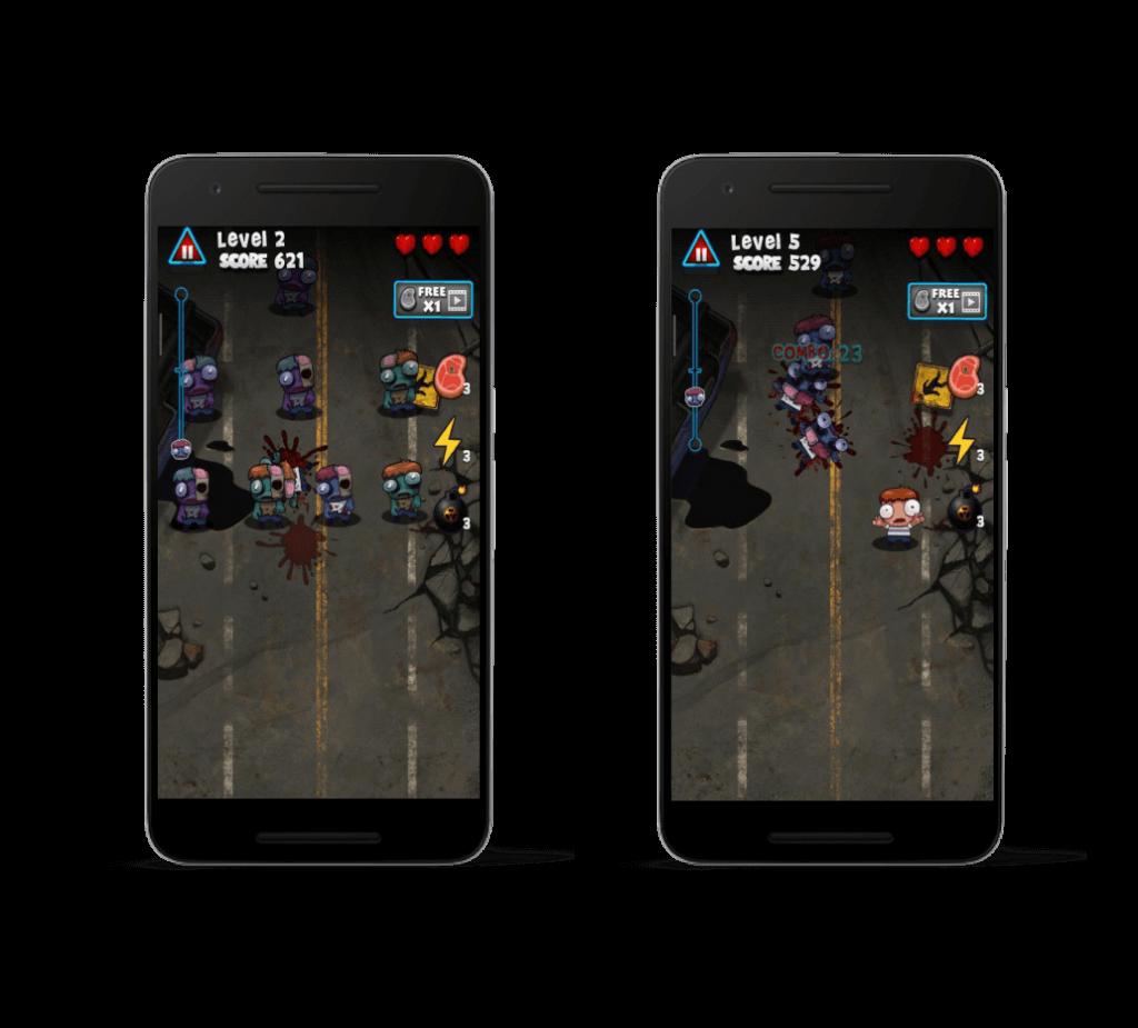 تصویر 2 بازی Zombie Smasher