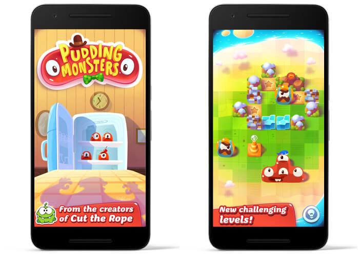 معرفی بازی pudding monster